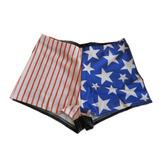 Short Calza Culote Bandera Eeuu Usa Estados Unidos
