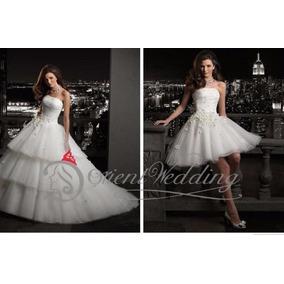 Vestido De Novia 0 15 Falda Desmontable