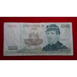 Billete De 1000 Pesos Chileno, Año 1994 (#132)