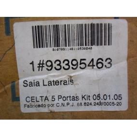 Kit Moldura Inferior Lado Carroc. Celta 03/13 Gm 93395463