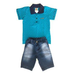 Conjunto Masculino Infantil Para Criança Menino- 012923