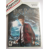 Harry Potter Half Blood Prince Nintendo Wii Nuevo Sellado