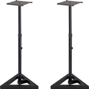 Par Bases Stands P/ Monitor Ajustable, Quiklok Bs300