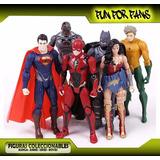 Figuras Dc Liga De La Justicia Batman Superman Flash 17 Cm
