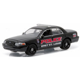 Ford Crown Victoria Police St Louis Hot Greenlight 1/64