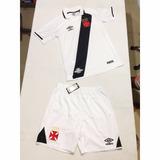 a73fd38cbb Kit   Camisa + Short De Jogo Game Originais Vasco Umbro 2017
