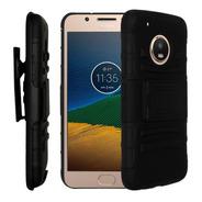 Funda Uso Rudo 3 En 1 Motorola Moto G5 Plus