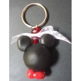Recuerdos Llaveros Mimi, Minnie Mickey Mouse Pasta Francesa