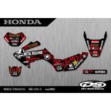 Calcos - Grafica - Honda Tornado Xr250 - Calidad Competición