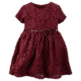 Vestido De Encaje - Vino Carters