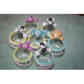 20 Souvenir-portavela Animalitos Porcelana Fria