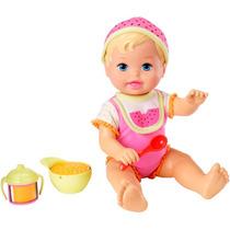 Boneca Little Mommy Momentos Do Bebê Hora Da Melância