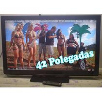 Tv 42 Polegadas Lcd Panasonic Hdmi Conversor Digital Usb