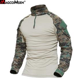 Camisetas Táticas De Camuflagem Do Exército/frete Grátis
