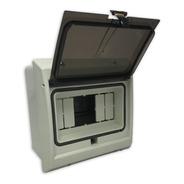Caja Térmicas Embutir / Exterior 6 Módulos Ip65 Tapa Fume