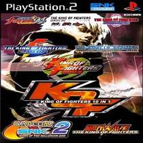 10x1 The King Of Fighters Collection Patch Ps2/ Pc