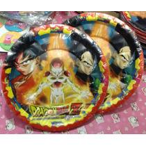 Dragón Ball Paquete Fiesta Para 40 Niños