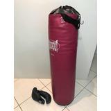 Saco De Boxe + Luva - Pancada Muito Firme