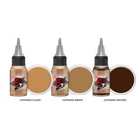 Kit 3 Pigmentos Iron Works - Micropigmentação