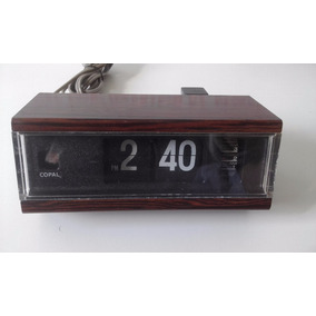 Raríssimo Relogio Anos 70 Copal Alarm Clock