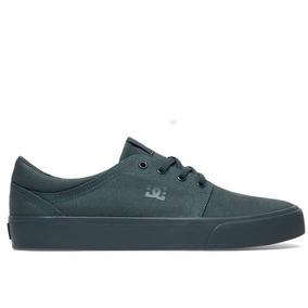 Zapatillas Dc Shoes Trase Tx Verdes Hombre Originales