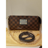Bolsa Clutch Louis Vuitton Eva Damier Ebene