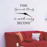 Tiempo Con La Familia Vale La Pena Cada Segundo Arte Pared