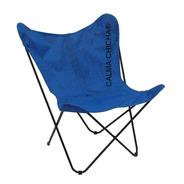 Sillón Bkf Marca Calma Chicha® Pvc Exterior Azul Jardin