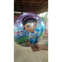 Balão Metalizado Doutora Brinquedos - Kit Com 10 Unid.