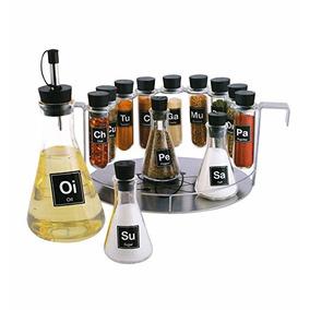 Spice Rack De Farmacia, 14 Piezas Química Estante De Especia