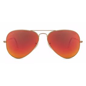 lentes ray ban color naranja