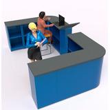 Mostrador Modular De Recepcion A Su Negocio