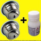 Capsula Recargable Dolce Gusto Acero Inox Dgpod X2 + Descal