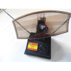 Antena Tipo Parabólica Con Plato Rectangular Hdtv/uhf/vhf/fm