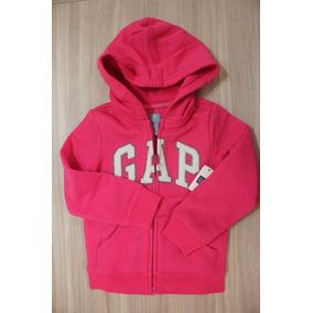 Blusa Moleton Gap Infantil Feminino Pink