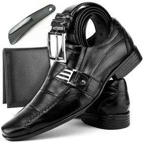 Sapato Social Sapatenis Masculino Kit 4x1 Casual Oferta