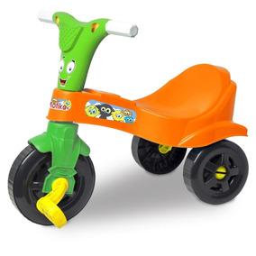 Motika Rosa Ou Azul Lugo Motoca Triciclo Velotrol Infantil