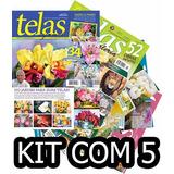 Kit 5 Revista Telas Pintura Arte Quadro Pinta +frete R$10,00