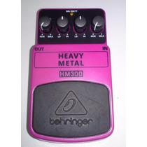 Pedal Guitarra Distorção Heavy Metal Behringer Hm 300