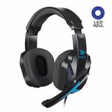 Audífono Headset Cybertel Gamer Fan Con Micrófono Gamer Led