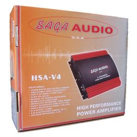 Amplificador Planta Para Carro Saga Audio 1200w X 2 Myp