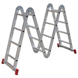 Escada Articulada 4 X 4 Alumínio 4,51 Metros - Botafogo