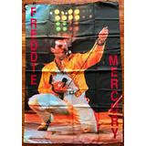 Queen - Freddie Mercury 1986 - Bandera Nueva Italiana