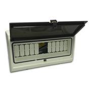 Caja Térmicas Embutir / Exterior 12 Módulos Ip65 Puerta Fume
