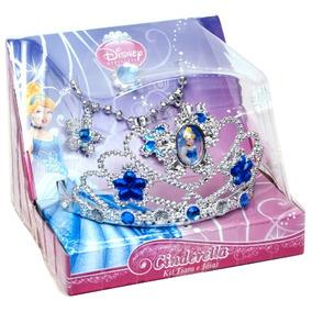 Acessórios Princesas Cinderella - Coroa E Joias - Br635