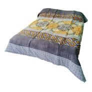 Cobertor Matrimonial Con Borrega, Varios Modelos A Elegir