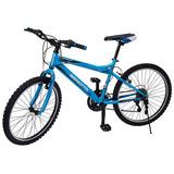 Bicicleta Rodada 24 Benotto Con Accesorios