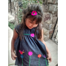 Vestido Para Nena De Diseño Jujuy