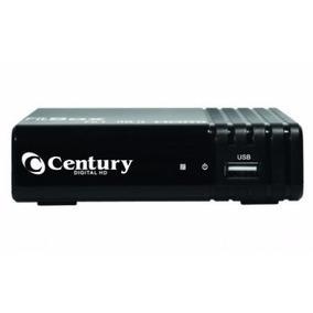 Conversor Digital Terrestre Century Fitbox Com Filtro 4g