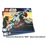 Juguete Instruction Manuals For Lego Star Wars Set #8097 &q
